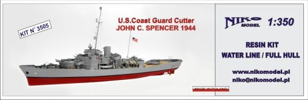U.S. JOHN C. SPENCER 1944