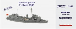 Japanese gunboat Fushimi 1941