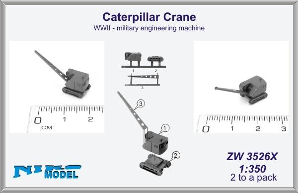 Caterpillar Crane  WWII - military engineering machine