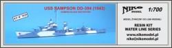 USS SAMPSON 1943