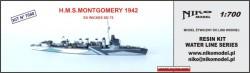 HMS MONTGOMERY G95 1942