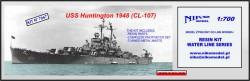 USS HANTINGTON 1948 (CL-107)