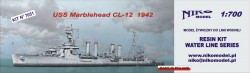 USS MARBLEHEAD (CL-12) 1942