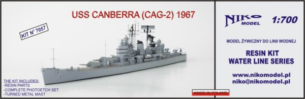 USS CANBERRA (CAG-2) 1967