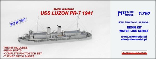 USS LUZON PR 7