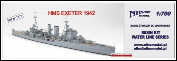 HMS EXETER 1942