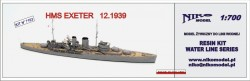 HMS EXETER 12.1939