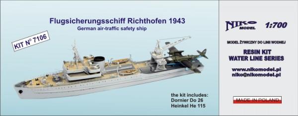 Flugsicherungsschiff Richthofen 1943