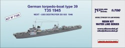 German torpedo-boat type 39  ( T35 1945 )