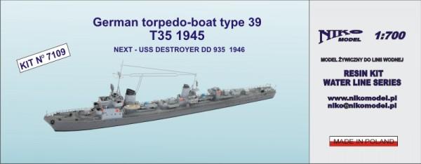 German torpedo-boat type 39  ( T35 1945 )