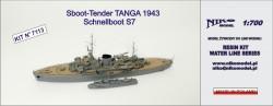 Sboot-Tender TANGA 1943 / Schnellboot S7