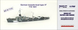 German torpedo-boat type 37 T18 1941