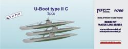 U-Boot type II C - 3 pcs