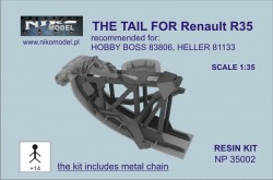 THE TAIL FOR Renault R35