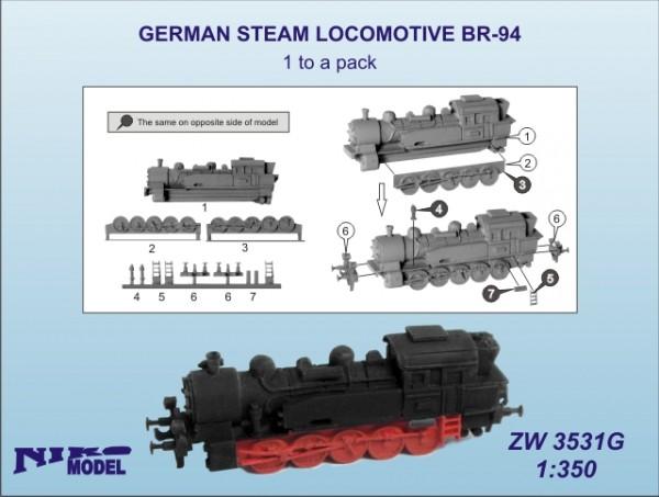 GERMAN STEAM LOCOMOTIVE BR-94