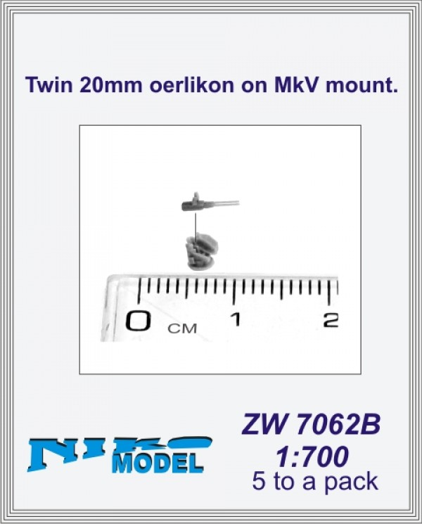 Twin 20mm oerlikon on MkV mount.