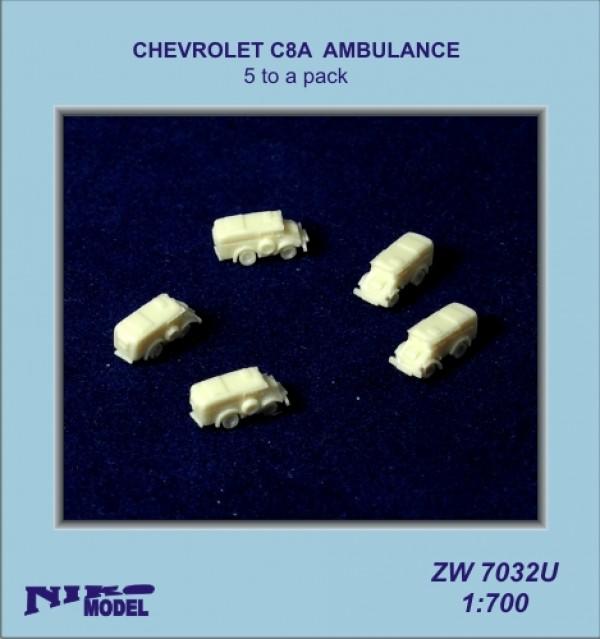 CHEVROLET C8A AMBULANCE